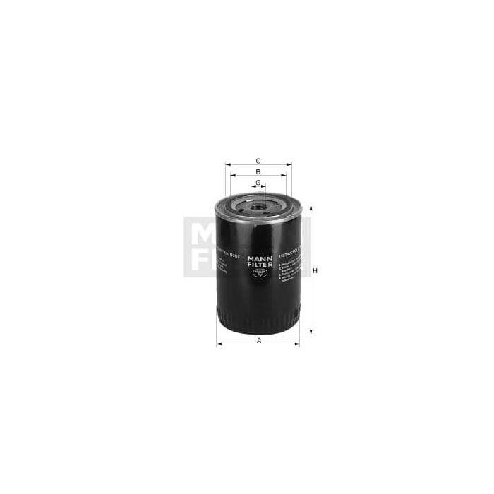 Mann Filter W730 Oil Filter
