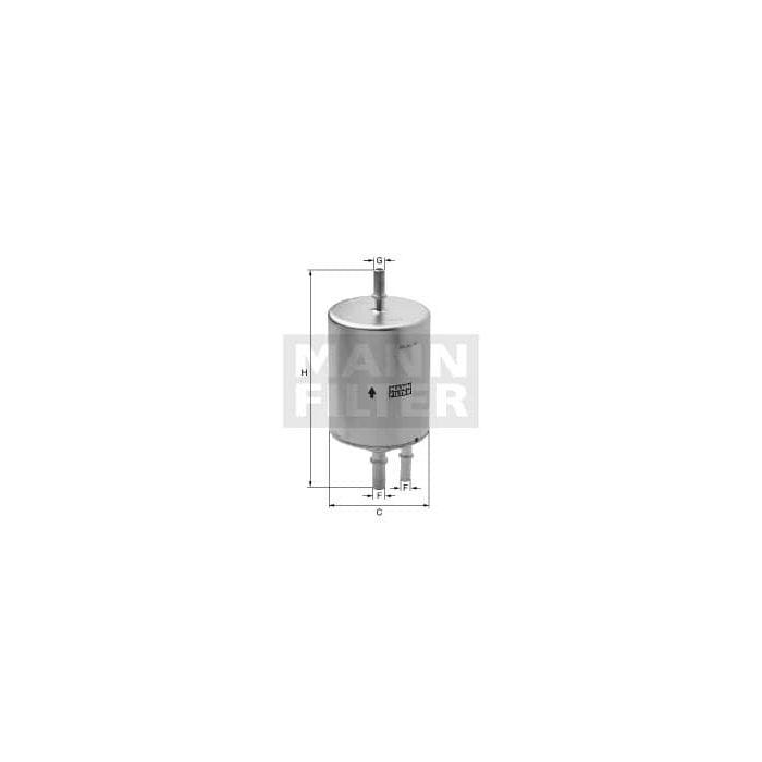 [ZTBE_9966]  MANN WK720/3 Inline Fuel Filter-Gasoline | MANN Filters R US | Inline Fuel Filter Mann |  | MANN Filters